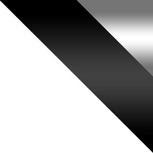 biały / biały + czarny połysk + lustro