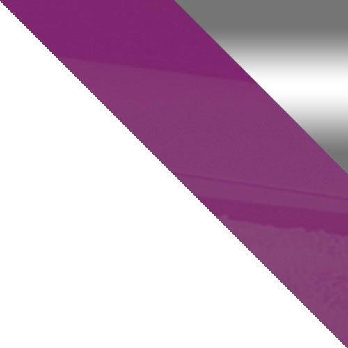 biały / biały + fioletowy połysk + lustro