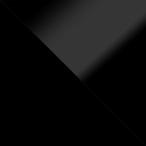 czarny / czarny połysk