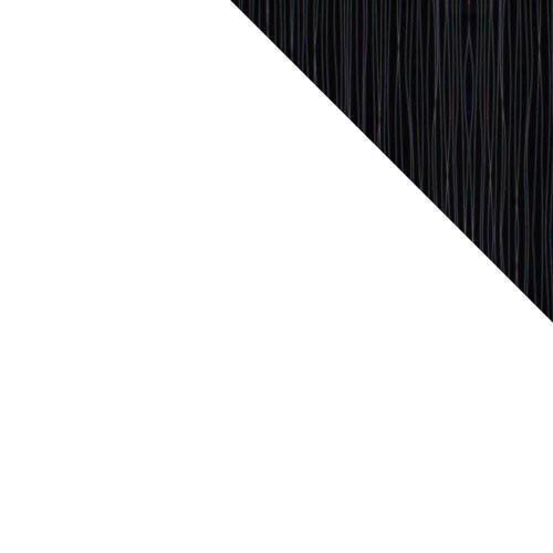 biały / biały + czarno-srebrny połysk