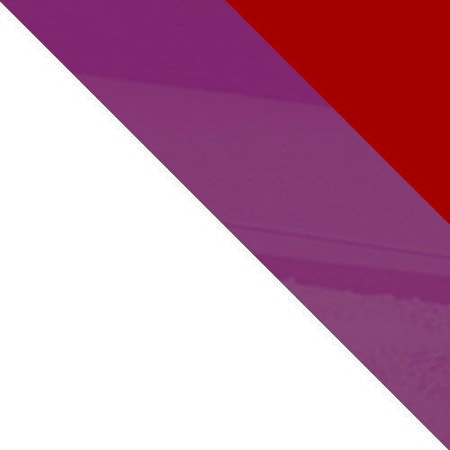 biały / czerwony połysk + fioletowy połysk