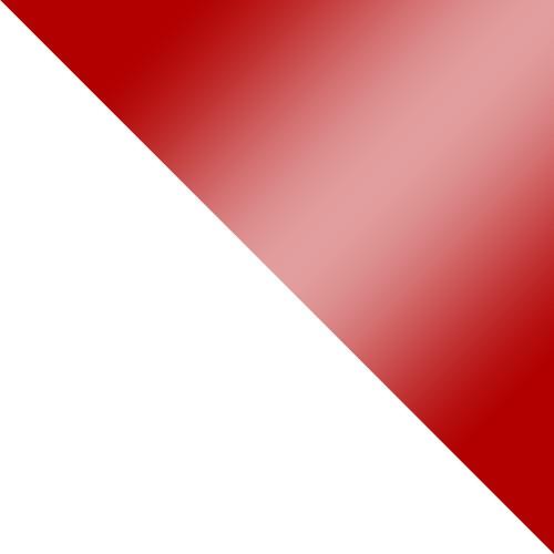 biały / czerwony połysk