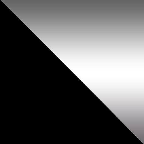 czarny mat / lustro