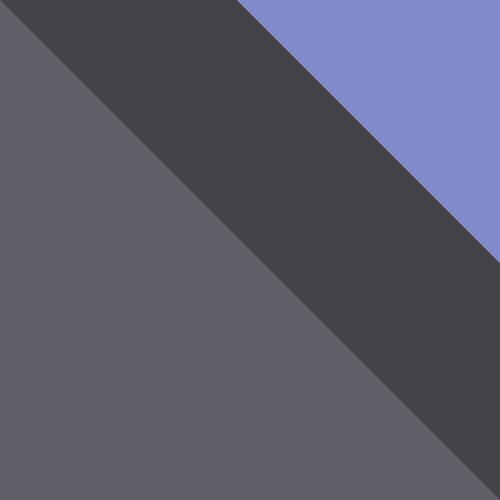 popiel / grafit + fioletowy