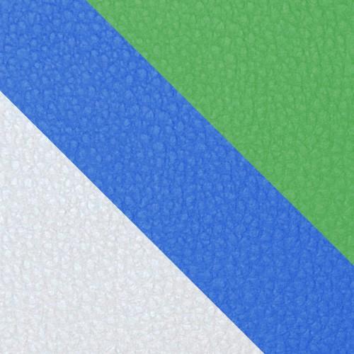 volleyball - bialy / niebieski / zielony