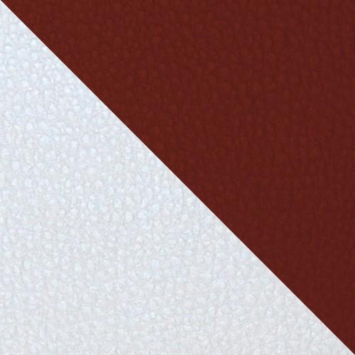 football - biały / ciemnobrązowy