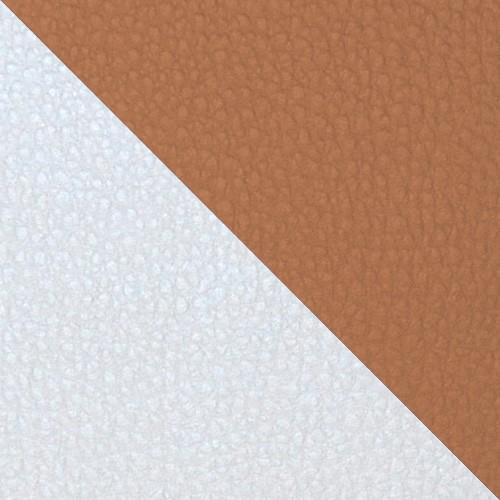 football - biały / jasnobrązowy