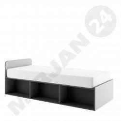 Łóżko młodzieżowe z pojemnikiem i materacem Lopez LP11