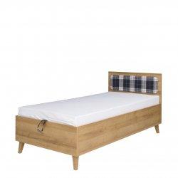 Łóżko młodzieżowe z pojemnikiem na pościel Temero TM10