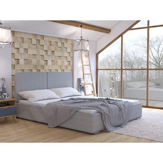 Łóżko tapicerowane do sypialni Szymi