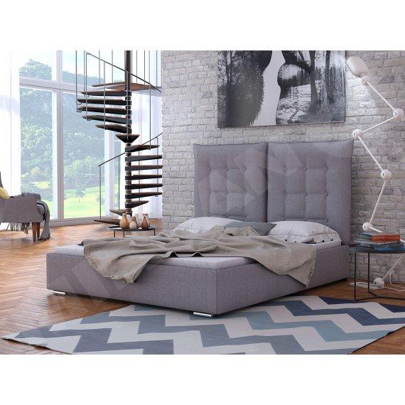 Łóżko tapicerowane małżeńskie Simon