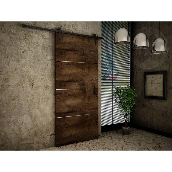 Drzwi naścienne Roko Plus 90