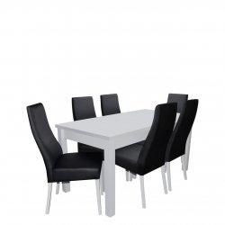 Stół z 6 krzesłami - RK020