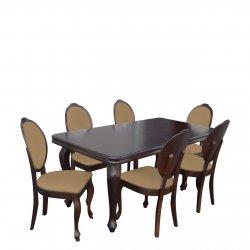 Rozkładany stół z 6 krzesłami - RK041
