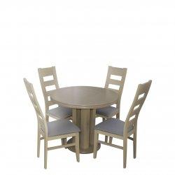 Stół i 4 krzesła nowoczesne - RK038