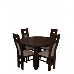 Zestaw stół i krzesła do jadalni - RK036