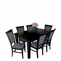 Stół i krzesła do jadalni - RK030