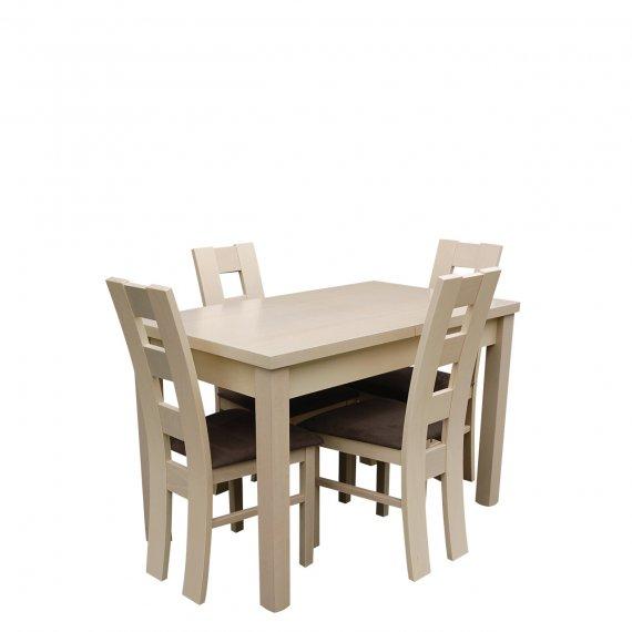 Stół i krzesła dla 4 osób - RK011