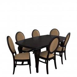 Stół z 6 krzesłami - RK028