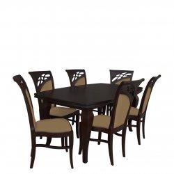 Stół z 6 krzesłami - RK027