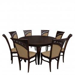 Rozkładany stół z 8 krzesłami - RK031