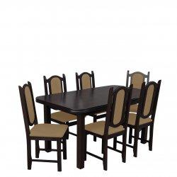 Stół i krzesła dla 6 osób RK008