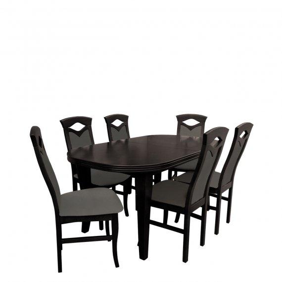 Stół i krzesła do jadalni - RK004