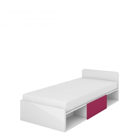 Łóżko z materacem i schowkiem Arne A16