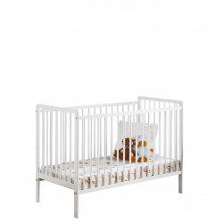 Łóżeczko dziecięce z materacem Liatra II 120x60