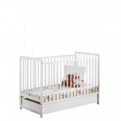 Łóżeczko dziecięce z materacem Liatra II Plus 120x60