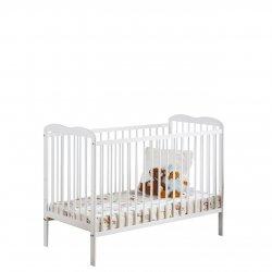 Łóżeczko dziecięce z materacem Prowansja II 120x60