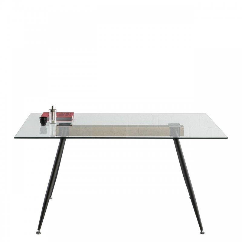 Stół ze szklanym blatem Tempo 12136