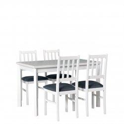 Stół rozkładany z 4 krzesłami - AL70