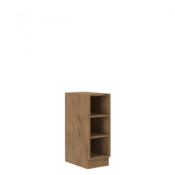 Szafka kuchenna dolna z półkami Woodline 30 D OTW BB
