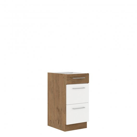 Szafka kuchenna dolna z szufladami Woodline 40 D 3S BB
