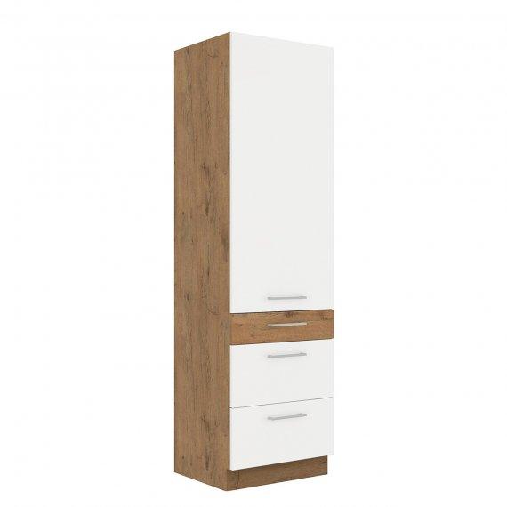 Szafka kuchenna wysoka z szufladami Woodline 60 DKS-210 3S 1F