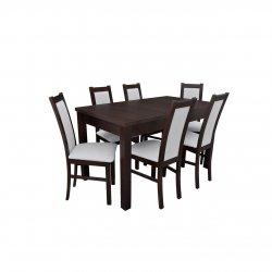 Stół z krzesłami dla 6 osób - RK051