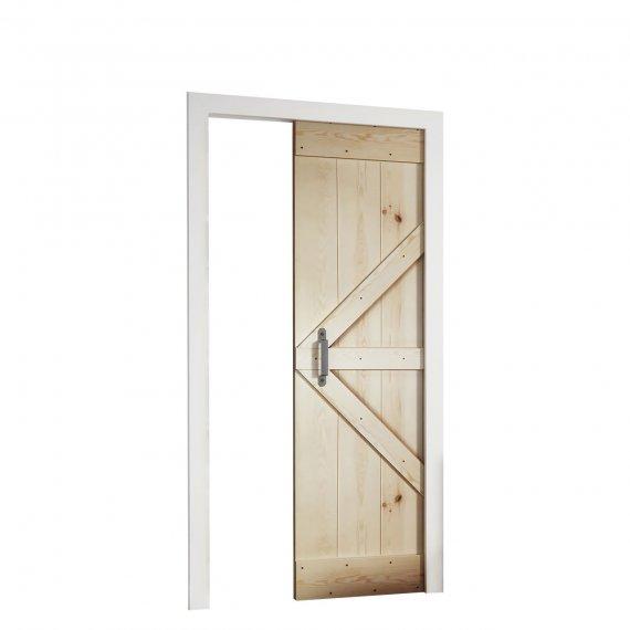Drzwi przesuwne w kasecie Nora 90