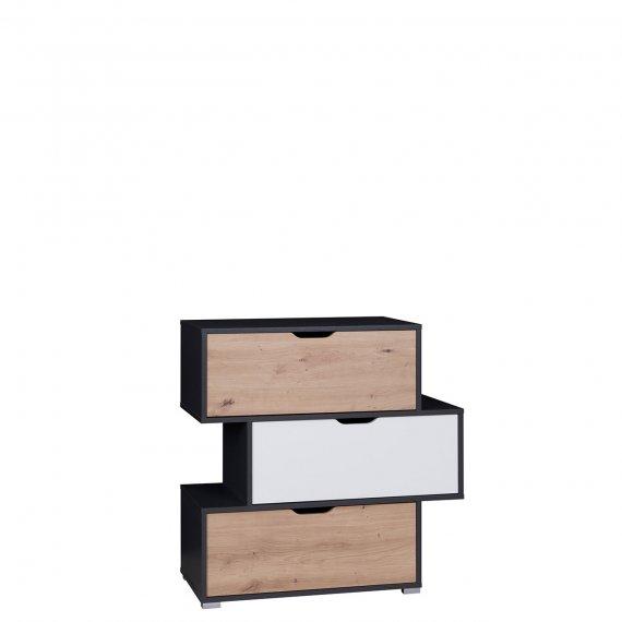 Komoda z szufladami K3SZ Monako MN03