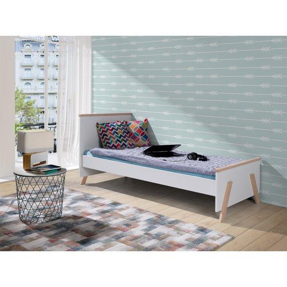 Łóżko jednoosobowe Kayle 90
