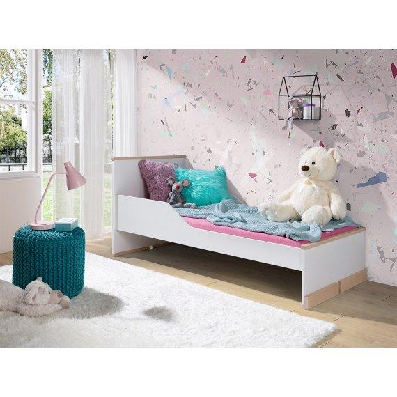 Łóżko dziecięce jednoosobowe Rennes 80