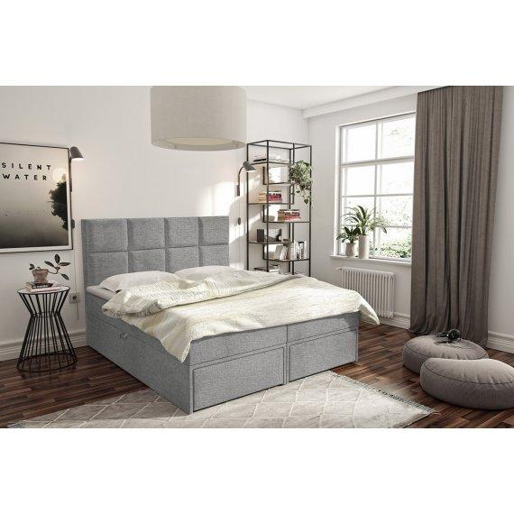 Łóżko kontynentalne Hudson Lux