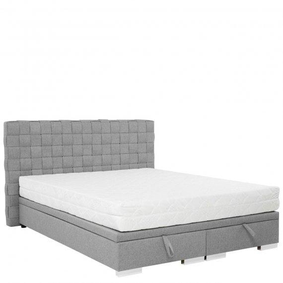 Łóżko tapicerowane z ramą na materac Winter 4
