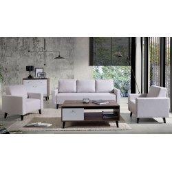 Salonowe meble z kanapą Naviedo Gloss II