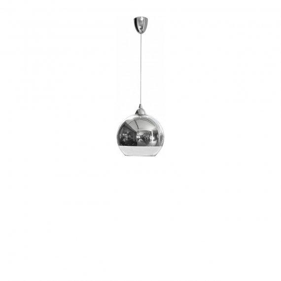 Lampa srebrna kula Globe M 4953