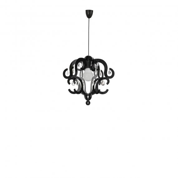 Lampa wisząca Katerina Black I zwis 5211