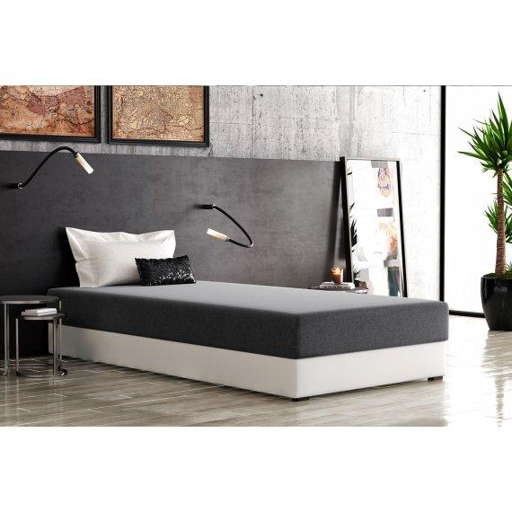 Łóżko jednoosobowe z materacem Mirella