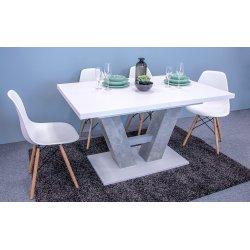 Nowoczesny stół Concrete 5002234 BEB + 4x Krzesło Betty