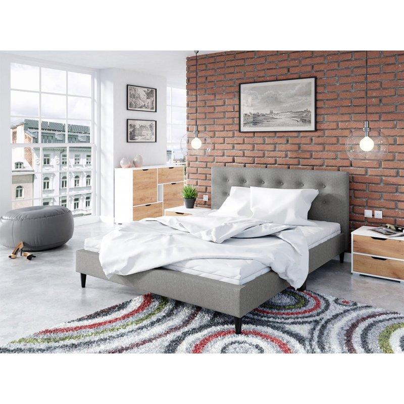 Łóżko tapicerowane Adora