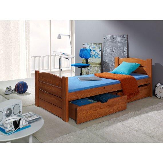 Łóżko z szufladami Maine 90